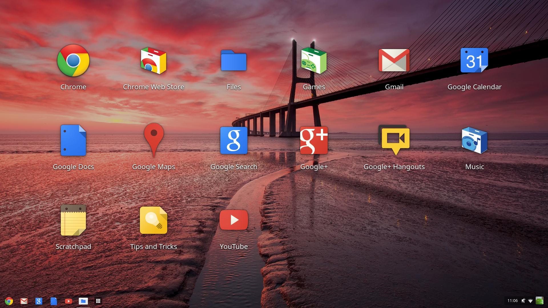 Google OS Desktop