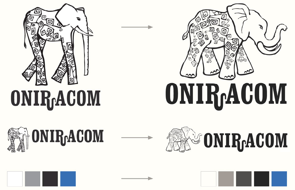 Oniracom Logo Refresh