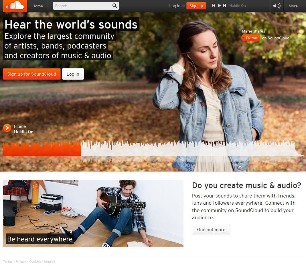 SoundCloud User Friendly