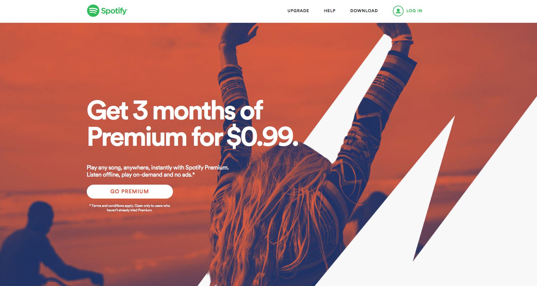 Spotify Premium Ads