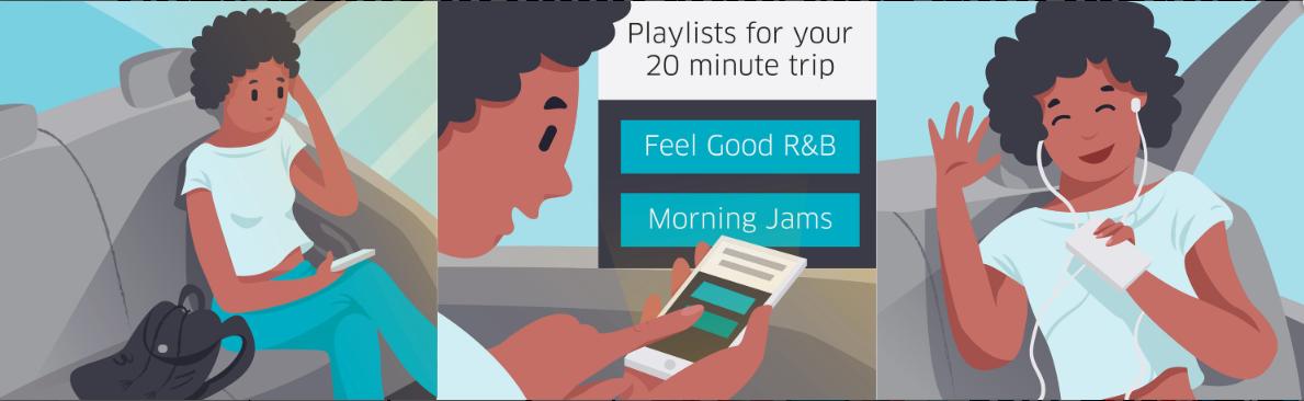 Uber Playlists